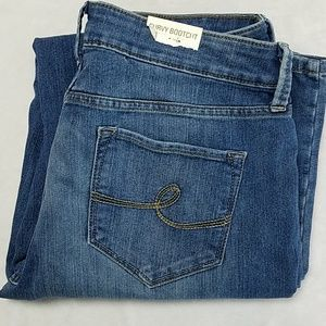 NWT Curvy Bootcut Jeans by Sonoma